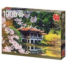 Japanese Garden Puzzle 1000 Piece Landscape Jigsaw Blossoming in Japan by Jumbo