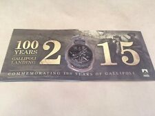 THE GREAT WAR GALLIPOLI TRI FOLD MEDALLION ANZAC CENTENARY LIMITED EDITION