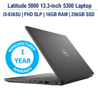 Dell Latitude 5300 Laptop i5-8365U FHD WVA SLP 16GB 256GB 1YR Dell Warranty