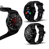 NEW Android SmartWatch [1.3-inch HD + Android 4.4.2 + DualCore CPU + WiFi] BK