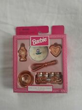 ��1997 Barbie Special Collection Cookware Set # 18435 New- Open Box