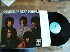 DEEP PURPLE / SHADES OF DEEP PURPLE (1968) LP french press HUSH - HEY JOE - HELP