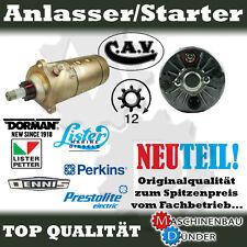 CAV S130L2410 PRESTOLITE 870639Z LISTER PETTER LEYLAND ANLASSER STARTER 24V 10kW