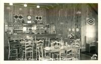 Dupuis Tavern Port Angeles Washington 1950s Interior RPPC Ellis Postcard 12323