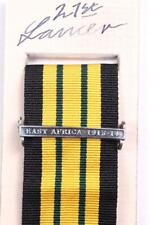 EDVII AGSM AFRICA GENERAL SERVICE MEDAL CLASP or RIBBON BAR EAST AFRICA 1913-14