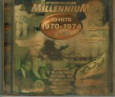 CD - MILLENNIUM 1970 - 1974 - 40 HITS / 2-CD ALBUM #C67#