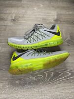 NIKE AIRMAX MEN'S SIZE 12 SHOES NEON GREEN RUNNING NEUTRAL RIDE