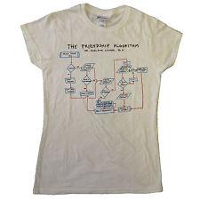 Big Bang Theory OFFICIAL T-Shirt Ladies Sheldon Cooper Friendship Algorithm SALE