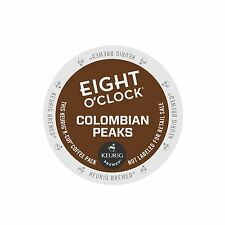 Eight O'Clock 100% Colombian Peaks Coffee Keurig K-Cups 96-Count