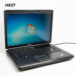 """DELL VOSTRO 1500 15.4"""" LAPTOP CORE 2 DUO T7250 4GB 320GB WIN 7 PRO H827"""