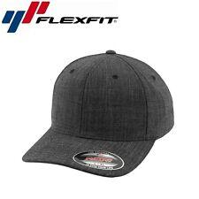 Flexfit Melange Baseball Cap L/XL Schwarz