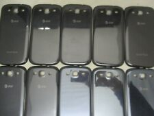 LOT OF 10 GOOD OEM AT&T SAMSUNG GALAXY S3 SGH-I747 BLUE BATTERY DOOR BACK COVER