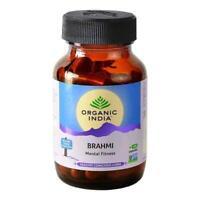 ORGANIC INDIA Brahmi Capsules For Improves Brain & Nervous System - 60 capsules