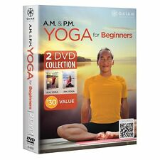 RODNEY YEE : AM PM YOGA FOR BEGINNERS -  DVD - Region 2 UK Compatible -sealed