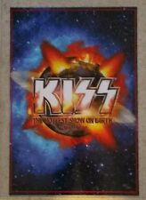 Kiss 2010  Hottest Show on Earth Poster Relic Numbered