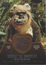 Star Wars Jedi Legacy - ER-1 WICKET W. WARRICK EWOK Fur Film Prop Relic