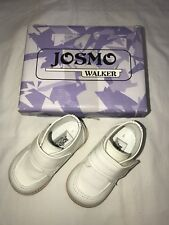 Josmo Size 5 Baby Boy Occasion Formal Holiday Portrait White Dress Walking Shoes