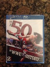 WWE: The 50 Greatest Finishing Moves in WWE History (Blu-ray,2012,2Disc)NEW  US