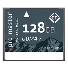 Promaster Compact Flash 128GB RUGGED Memory Card 1066X UDMA7 #6501