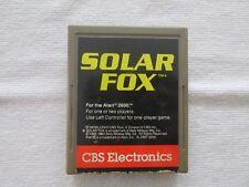 Solar Fox Atari 2600 Game Cartridge Tested Working Cbs Electronics