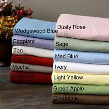 Microfleece Extra Soft Sheet Set Colors Twin Bed Cozy Micro Fleece