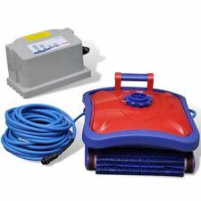 vidaXL Zwembad Robotstofzuiger Rood/Blauw Zwembadstofzuiger Waterstofzuiger