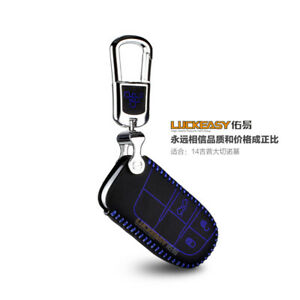 Car Keychain Key Bag Key Fob Cover Keyring for Jeep Compass Cherokee Renegade