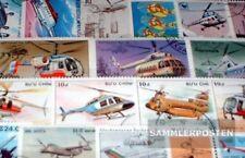 Motive 50 verschiedene Hubschrauber Marken