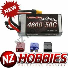 Venom 50C 2S 4600MAH 7.4V RC à Quatre Pattes Lipo Shorty Rigide Batterie W/ Uni