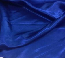 3Mts polyester satin Royal blue X150cm for shorts shirts garments crafts