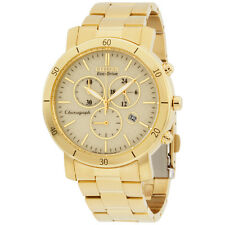 Citizen Eco-Drive Chronograph Gold Dial Women's Watch FB134256P