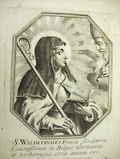 Sainte Waudru Mons Waldeltrud Michiel VAN LOCHOM XVIIe Duchesse d'Aiguillon 1639