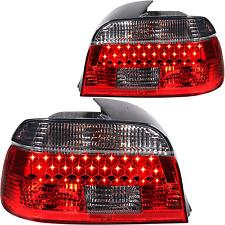 LED Rückleuchten Set Satz 5er BMW E39 Limousine rot smoke schwarz  Bj. 95-00