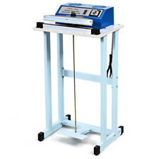 "12"" Foot Pedal Impulse Sealer Heat Home Plastic Bag Sealing Machine w/Cutter"