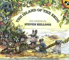 The Island of the Skog by Steven Kellogg (1993, Paperback) NEW