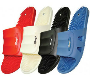 Women's Massage Soft Rubber Slippers Slides Sandals Sizes 5-10 New