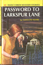 Nancy Drew Mystery Stories # 10 Password To Larkspur Lane Carolyn Keene Book HC