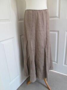 PER UNA MARKS & SPENCER 100% Linen Skirt  UK18r