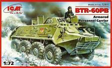 Btr-60 PB BLINDATI tersonnel vettore (finlandese, sovietica & tedesco MKGS) 1/72 ICM