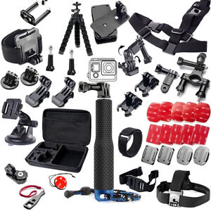 for Gopro Hero 9 Xiaomi yi GS51 Accessories Set Helmet Harness Chest Strap Mount