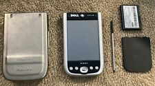 Dell Axim X 50 V Pocket Pc and Titanium Rhino Case. Untested As Is