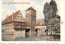 Van Houten's Cocoa Victorian Trade Card Dinteloord North Brabant Holland