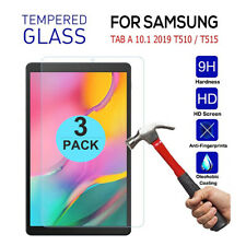 3 Pack Samsung Galaxy Tab A 10.1 SM-T510 /T515 Tempered Glass Screen Protector