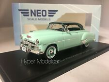 NEO SCALE MODEL 1/43 CHEVROLET STYELINE DE LUXE COUPE' 1952 LIGHT GREEN NEO49585