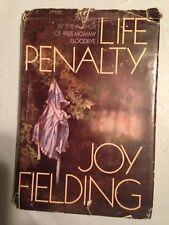 1984 First Edition  LIFE PENALTY  Joy Fielding H/C D/J A mothers revenge