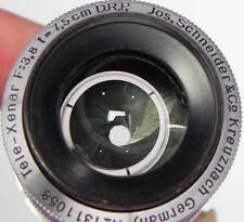 Schneider 75mm f3.8 Tele-Xenar C mount  #1311058