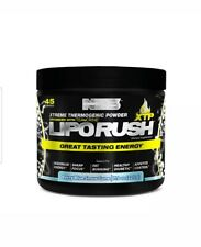 NDS Nutrition LipoRush XTP - Extreme Thermogenic Fat Burning Powder  snow cone