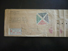 Postal History - Costa Rica - Scott# 179-182, 183- Stamps & Souvenir Sheet