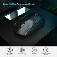 Ajazz i305Pro RGB 2,4G Gaming Maus Drahtlose Verdrahtete Dual Modus Mäuse 16000