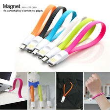 Magnet Flat Micro USB Data Charger Cable For Samsung Galaxy S6 Note Nexus Kindle